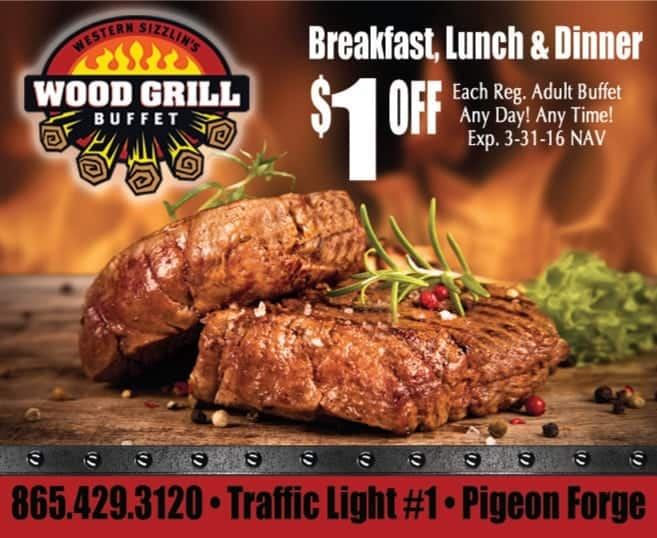 Wood grill coupons