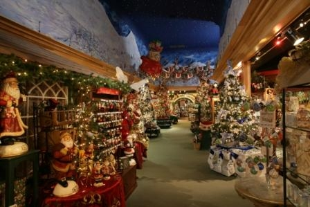 Inside the Incredible Christmas Place in Pigeon Forge