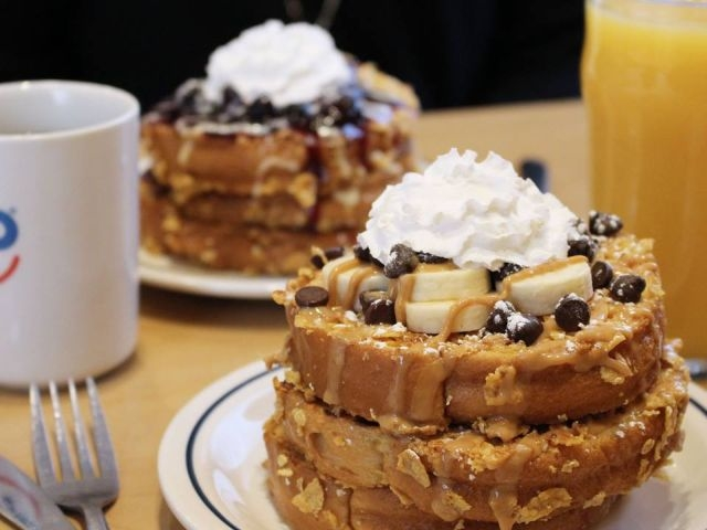 Double Dipped French Toast at IHOP