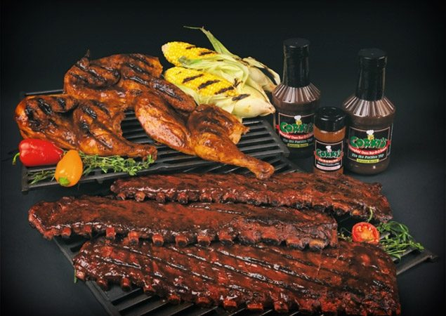 The best ribs around are found at Corky's BBQ in Pigeon Forge
