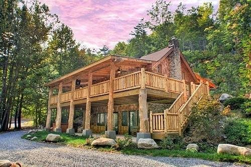 Escape to nature in one of Parkside's cabins.