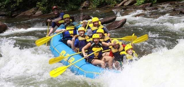 Outdoor Adventures Whitewater Rafting