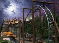 The Mystery Mine at Dollywood in Pigeon Forge