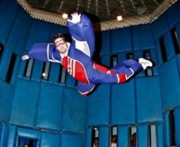 Afraid to jump out of a plan. Check out Flyaway Indoor Skydiving
