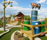 Miniature Golf at Old MacDonalds