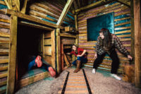 The best interactive experience in the smokies is at The Escape Games in PIgeon Forge