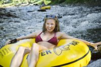 Don't miss tubing in the smokies