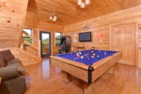 Fun in the game room of your cabin