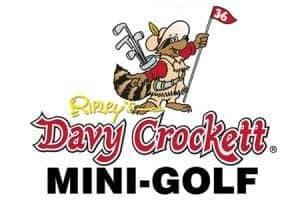 Ripley's Davy Crockett Mini Golf logo