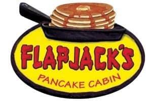 Flapjack's Pancake Cabin logo