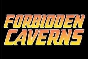 Forbidden Caverns logo