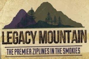 Legacy Mountains Ziplines logo