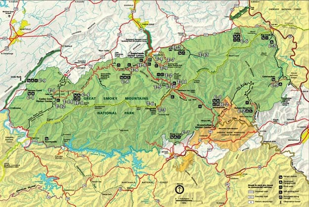 4 Essential Smoky Mountain Maps For Your Next Vacation