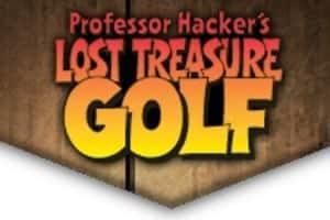 Professor Hacker's Lost Treasure Golf logo
