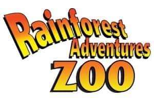 Rainforest Adventures Zoo logo