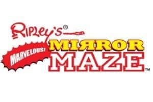 Ripley's Mirror Maze logo