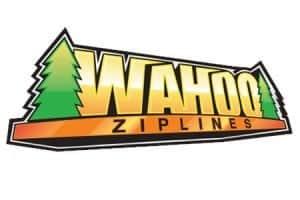 Wahoo Ziplines logo