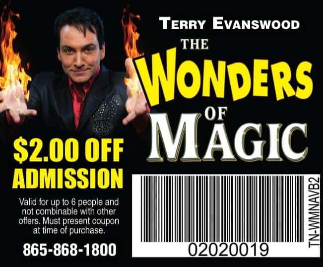 smoky mountain theater coupons