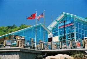 Ripley's Aquarium of the Smokies in downtown Gatlinburg Tennessee