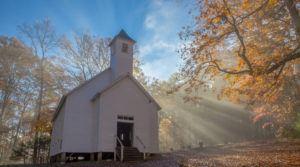 cades cove primitive church