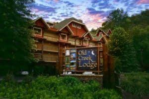 Old Creek Lodge hotel in Gatlinburg