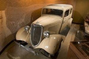 display car at alcatraz east