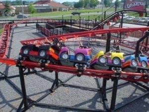kids ride at nascar speedpark