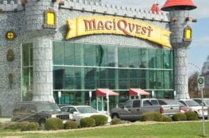 magiquest in pigeon forge