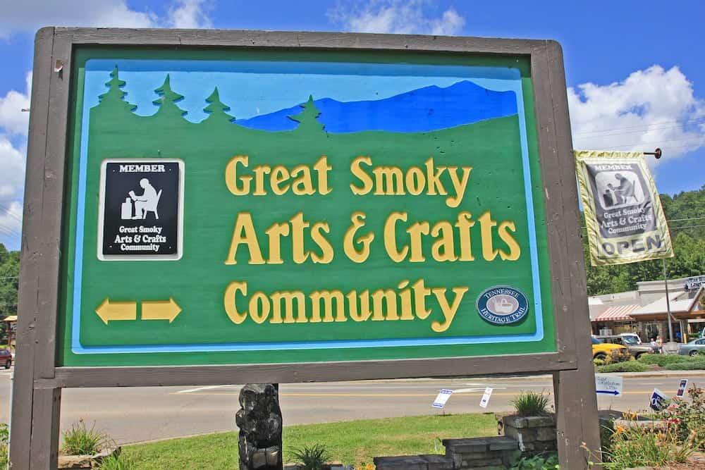 gatlinburg arts and crafts community