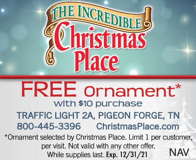 The Incredible Christmas Place coupon