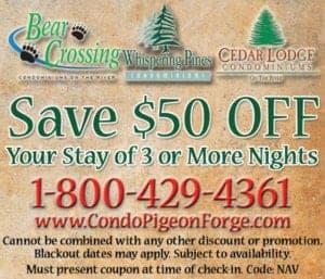 Whispering Pines Condos coupon