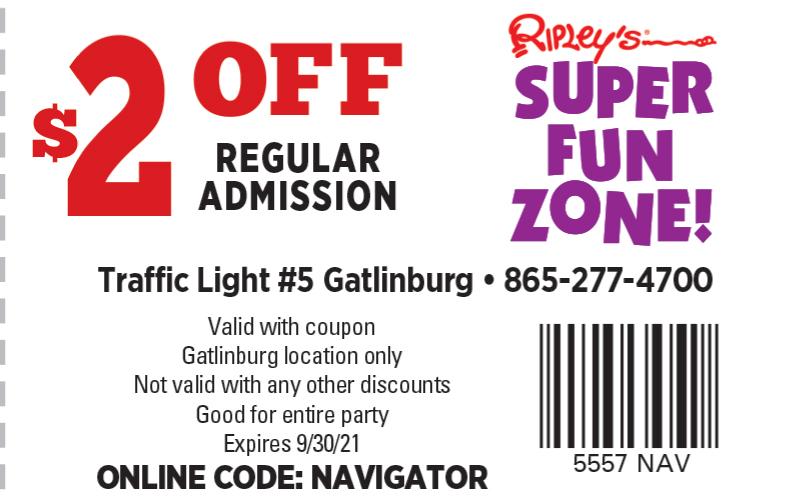 Ripley's Super Fun Zone coupon