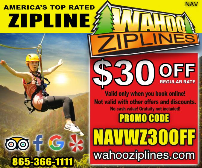 Wahoo Ziplines coupon
