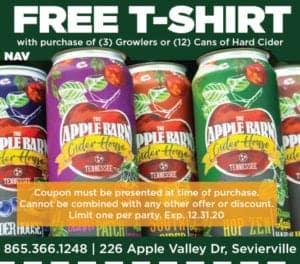 Apple Barn Cider House coupon