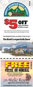 Smoky Mountain Knifeworks coupon