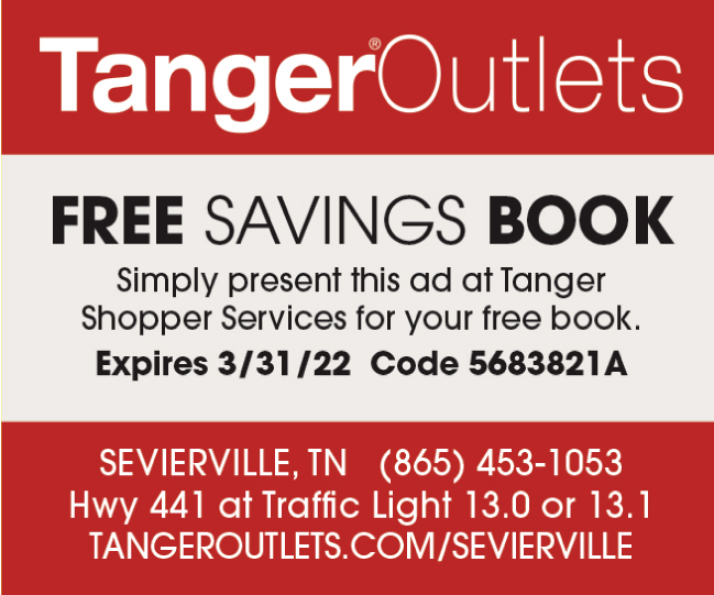 Tanger Outlet Mall coupon