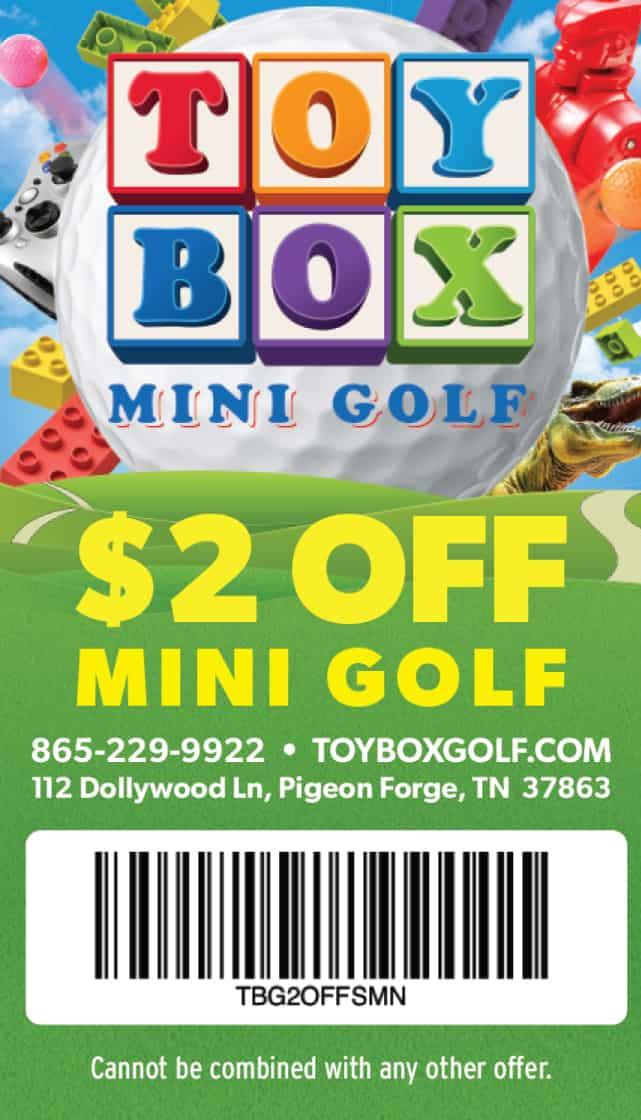 Toy Box Mini Golf coupon