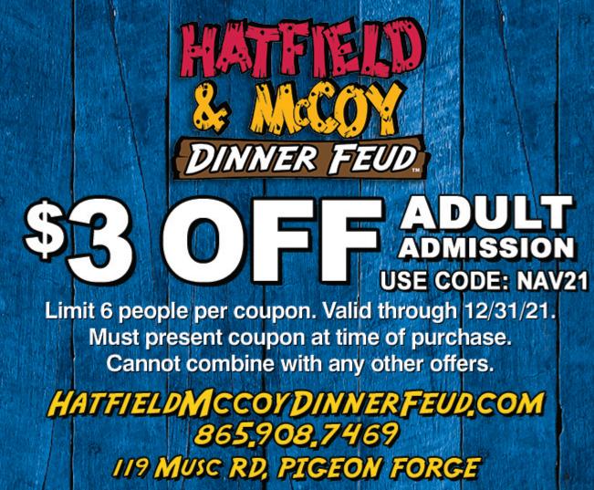 Hatfield & McCoy Dinner Show coupon