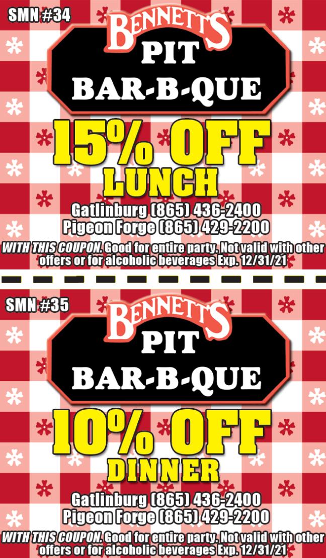 Bennett's Bar-B-Que coupon