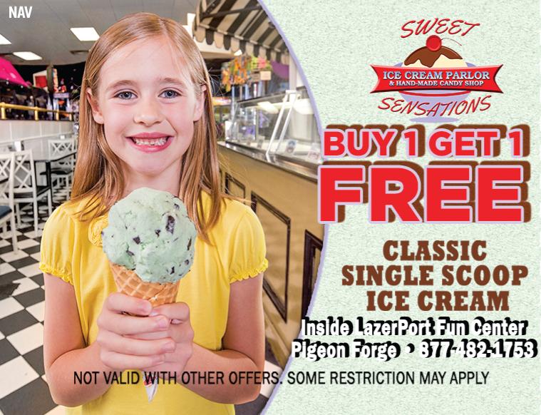 Sweet Sensations Ice Cream Parlor coupon