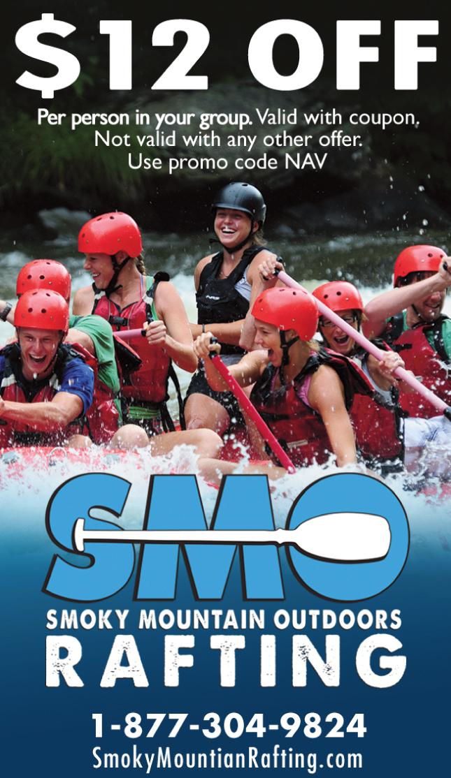 Smoky Mountain Outdoors Rafting coupon