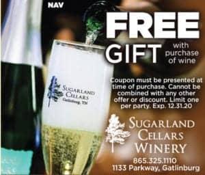 Sugarlands Cellars Winery coupon