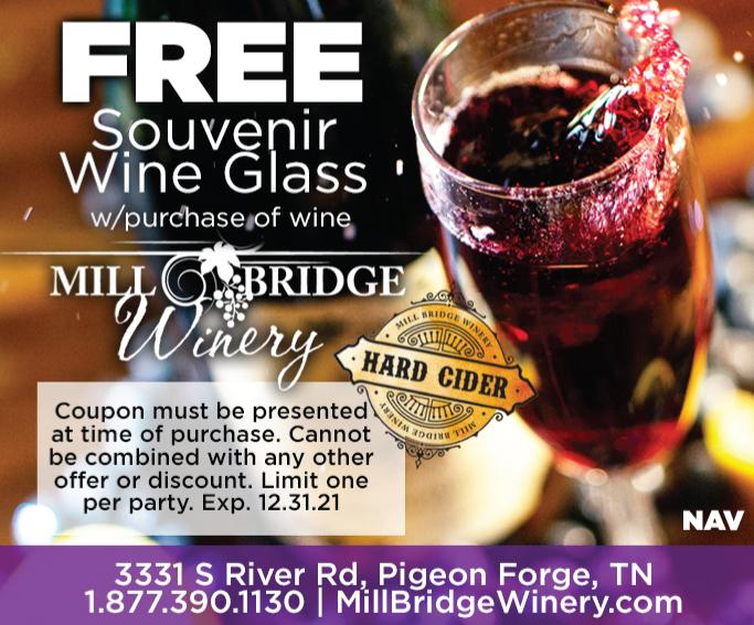 Mill Bridge Winery coupon