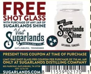 Sugarlands Moonshine coupon