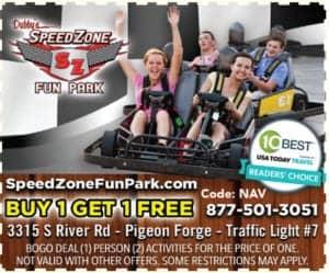 Speed Zone Fun Park coupon